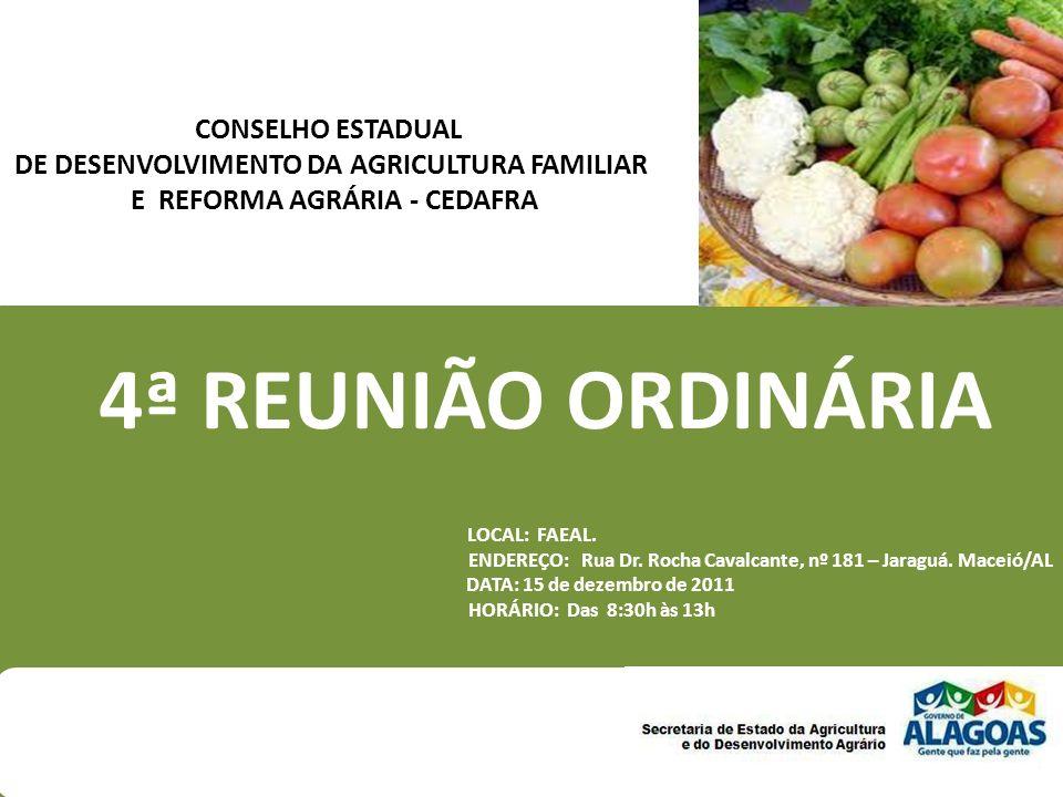 4ª REUNIÃO ORDINÁRIA CONSELHO ESTADUAL
