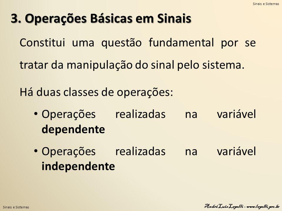 3. Operações Básicas em Sinais