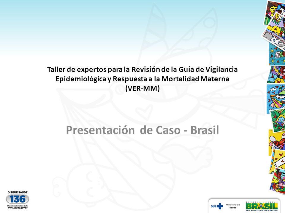 Presentación de Caso - Brasil