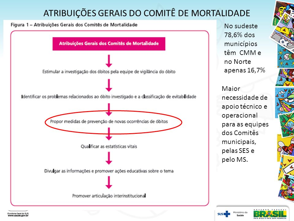 ATRIBUIÇÕES GERAIS DO COMITÊ DE MORTALIDADE
