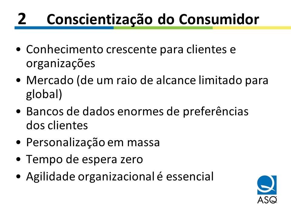 2 Conscientização do Consumidor