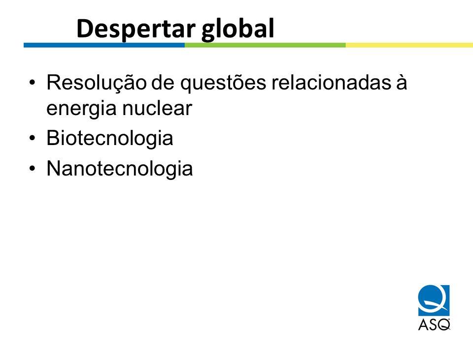 Despertar global Resolução de questões relacionadas à energia nuclear