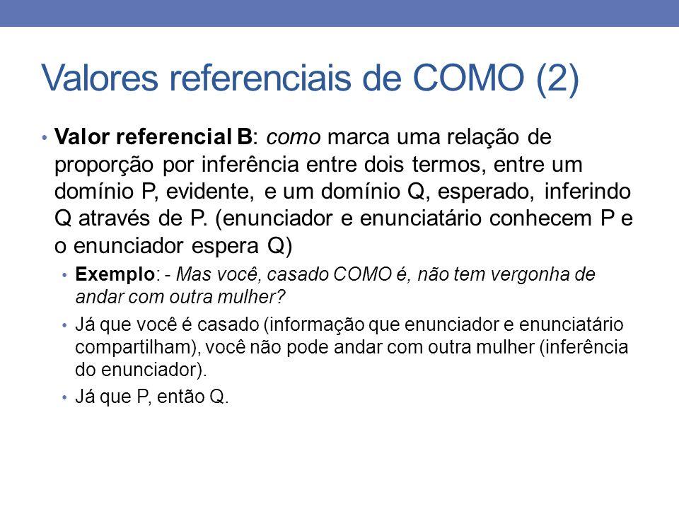 Valores referenciais de COMO (2)