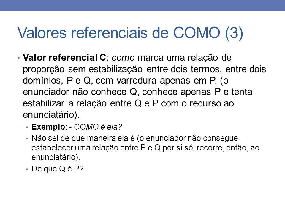 Valores referenciais de COMO (3)