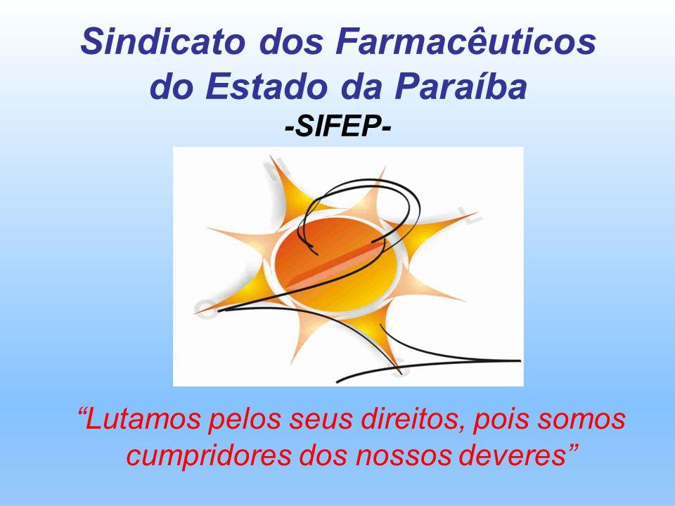 Sindicato dos Farmacêuticos do Estado da Paraíba -SIFEP-