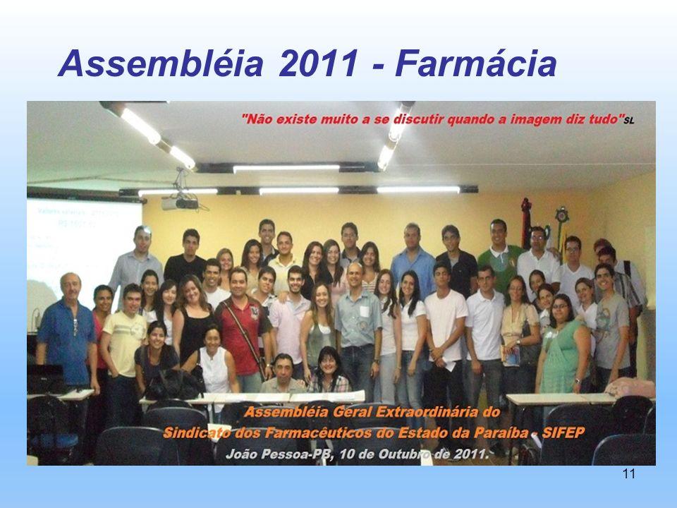 Assembléia 2011 - Farmácia
