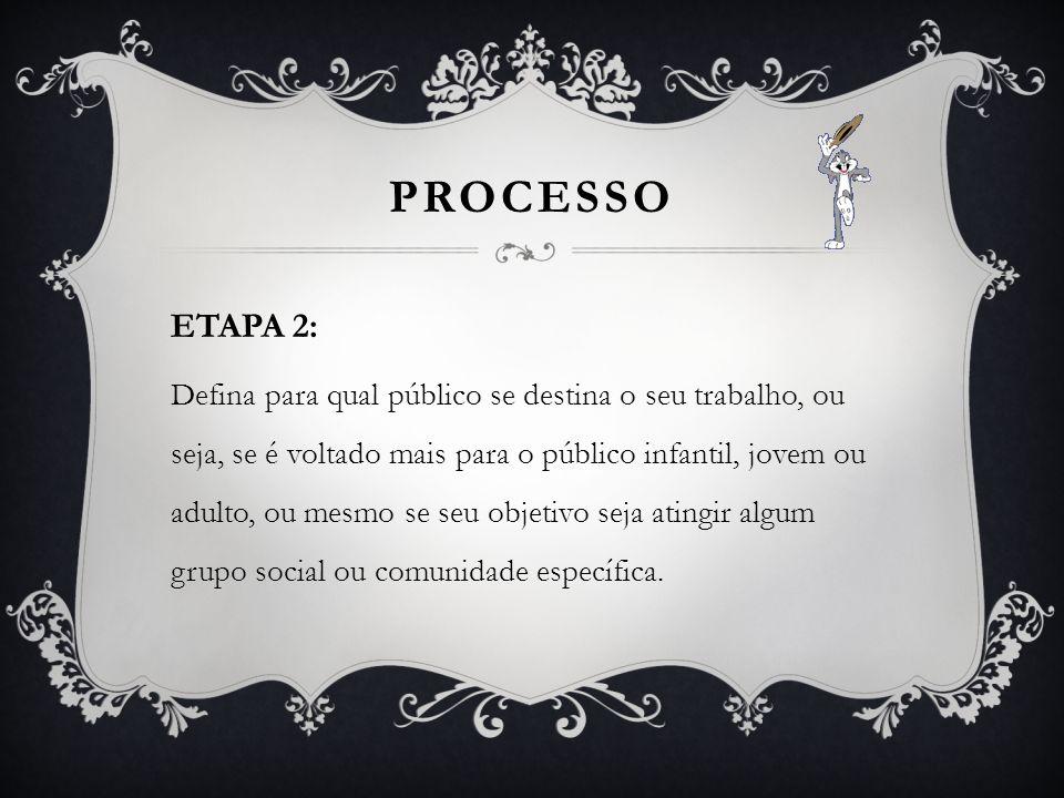 PROCESSO ETAPA 2: