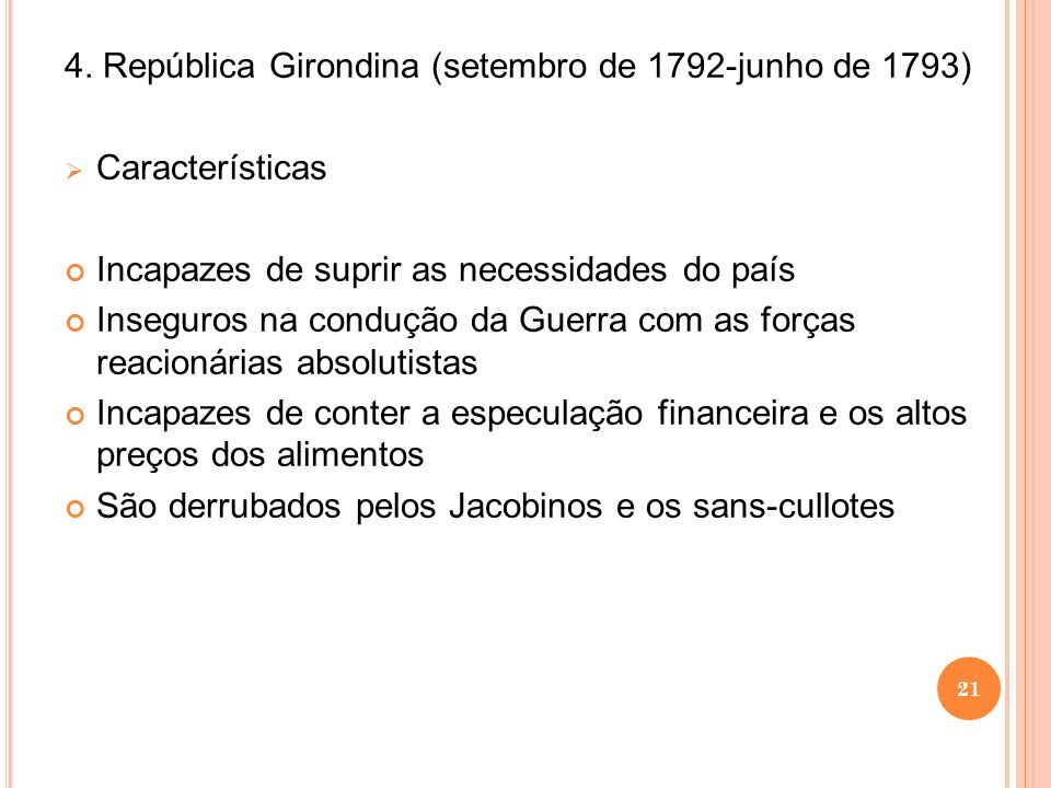 4. República Girondina (setembro de 1792-junho de 1793)