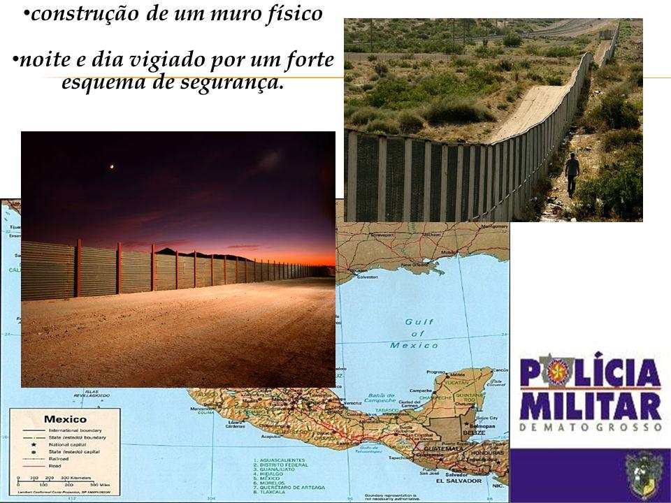 construção de um muro físico