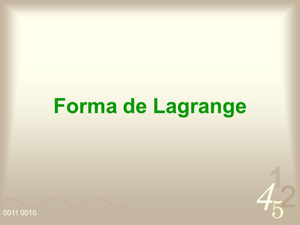 Forma de Lagrange
