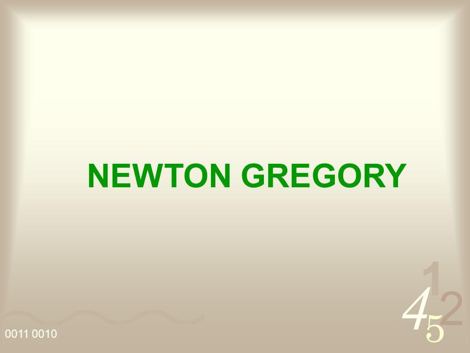 NEWTON GREGORY