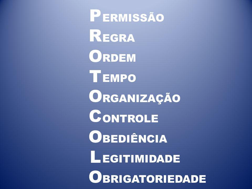 ERMISSÃO EGRA RDEM EMPO RGANIZAÇÃO ONTROLE BEDIÊNCIA EGITIMIDADE BRIGATORIEDADE