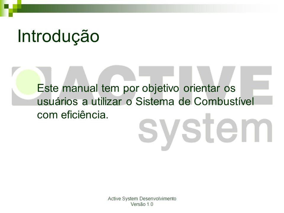 Active System Desenvolvimento Versão 1.0