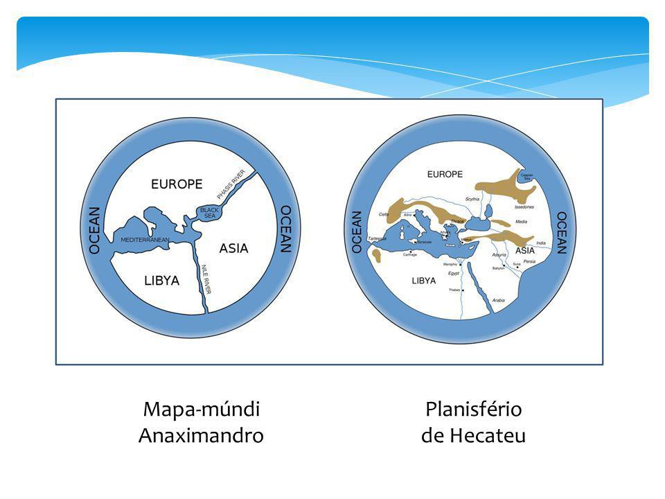 Mapa-múndi Anaximandro