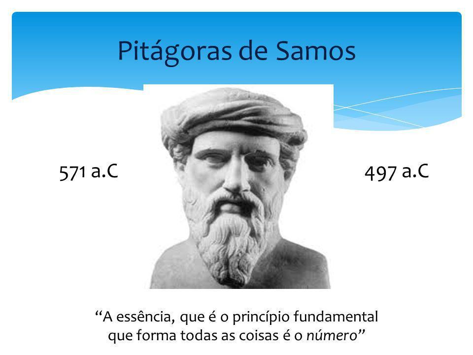 Pitágoras de Samos 571 a.C 497 a.C