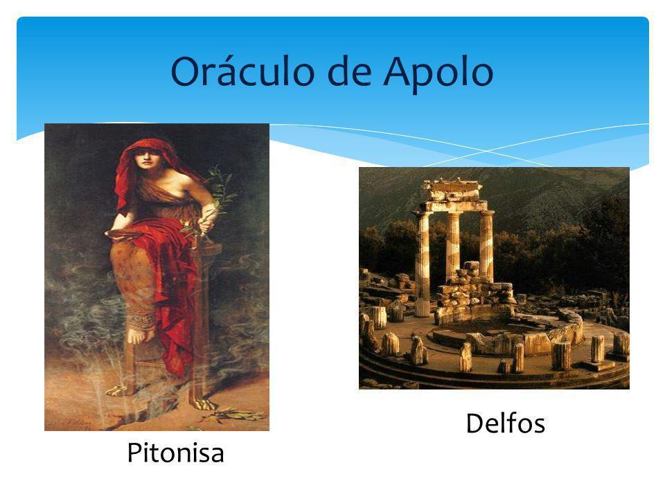 Oráculo de Apolo Delfos Pitonisa