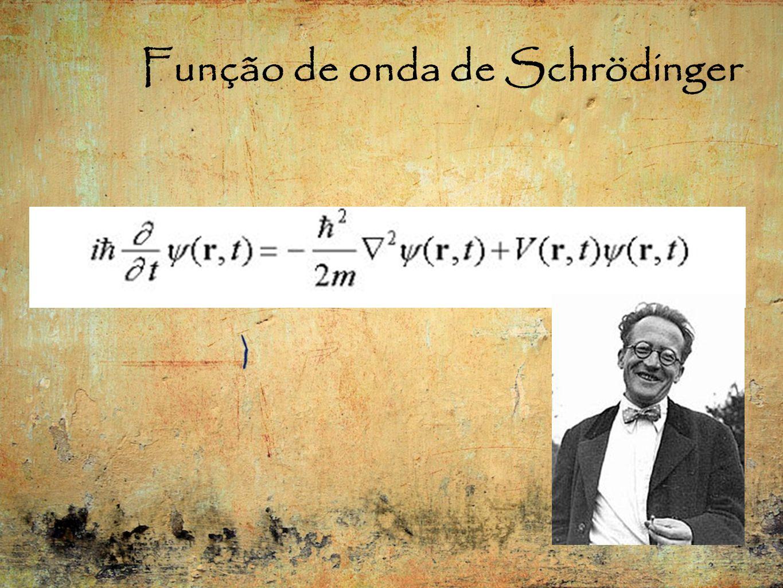 Função de onda de Schrödinger