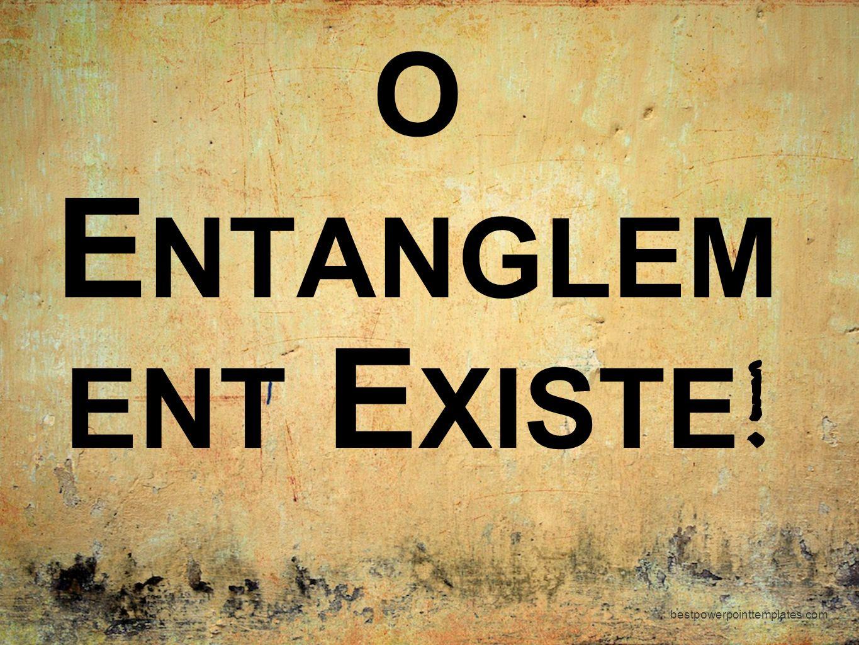 O Entanglement Existe! bestpowerpointtemplates.com