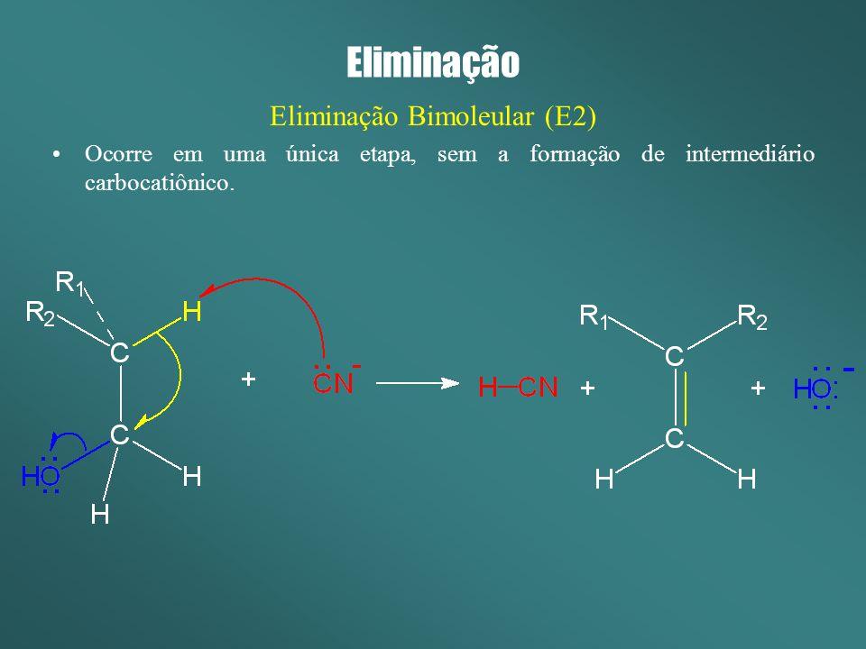 Eliminação Bimoleular (E2)