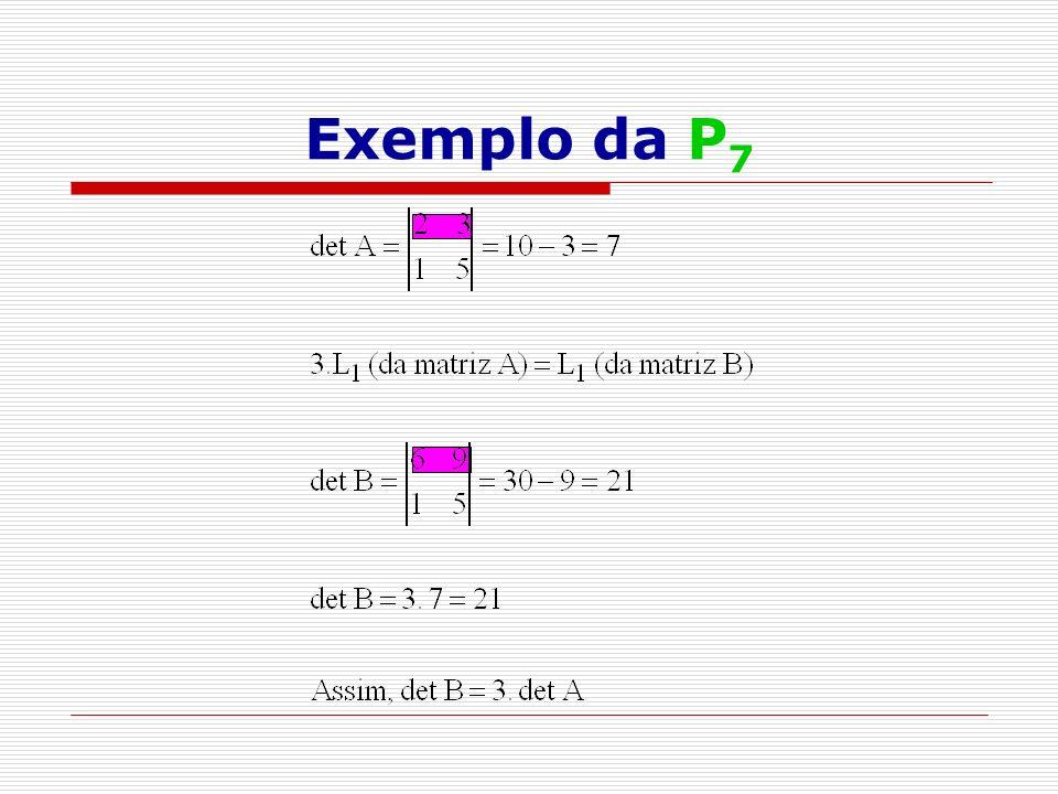 Exemplo da P7