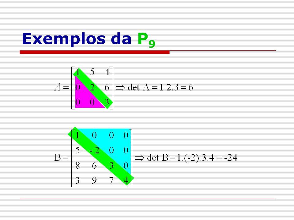 Exemplos da P9
