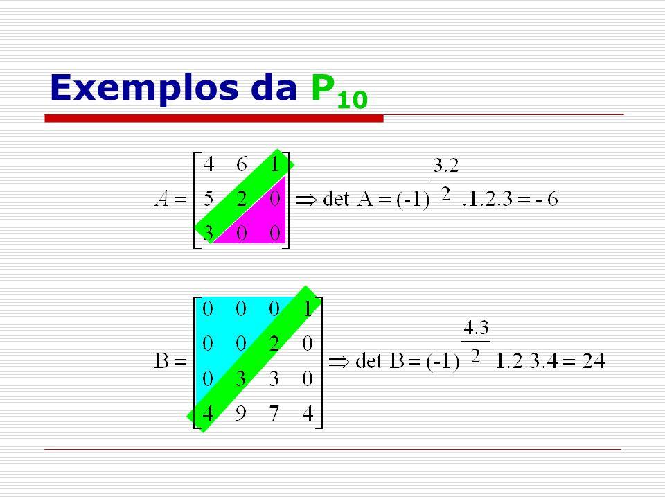 Exemplos da P10