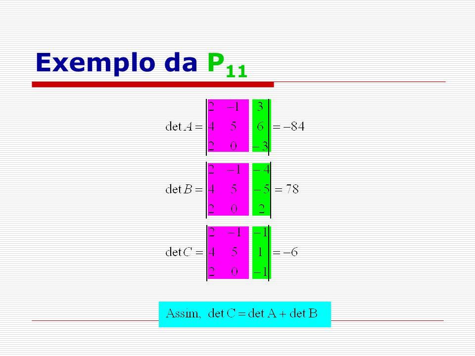 Exemplo da P11