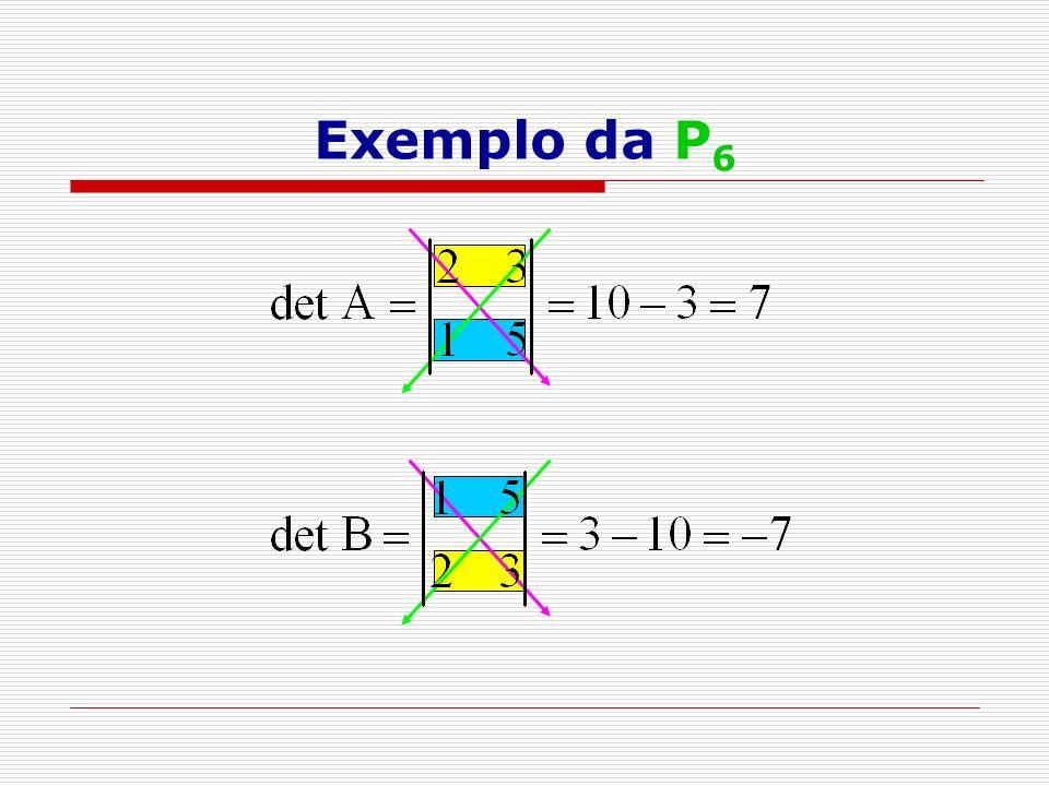 Exemplo da P6
