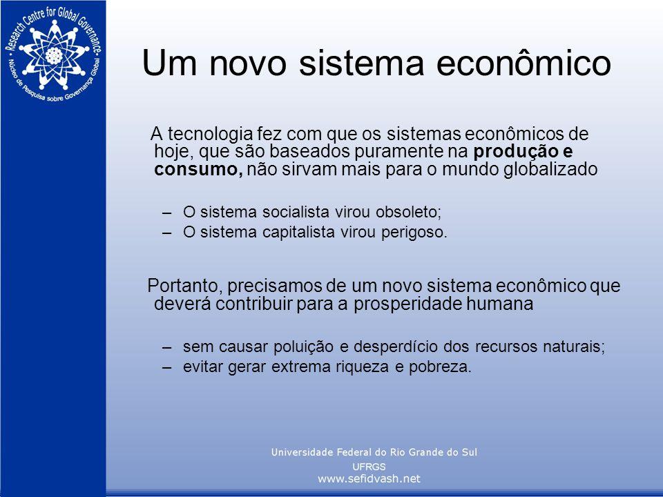 Um novo sistema econômico