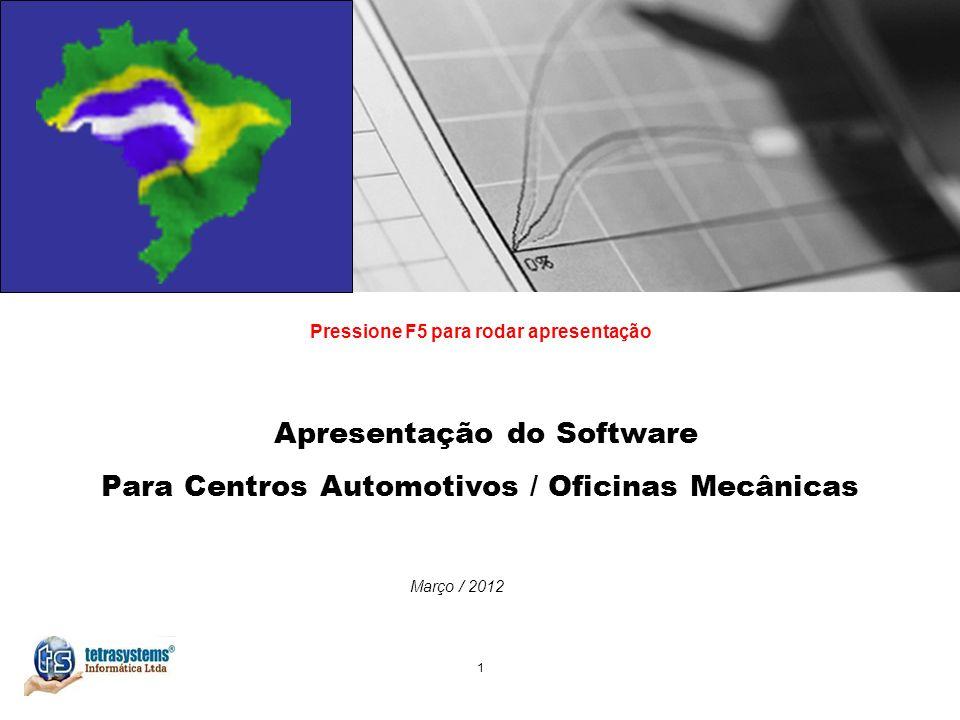 Apresentação do Software Para Centros Automotivos / Oficinas Mecânicas