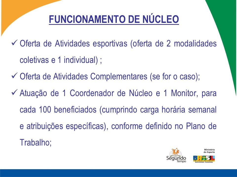 FUNCIONAMENTO DE NÚCLEO