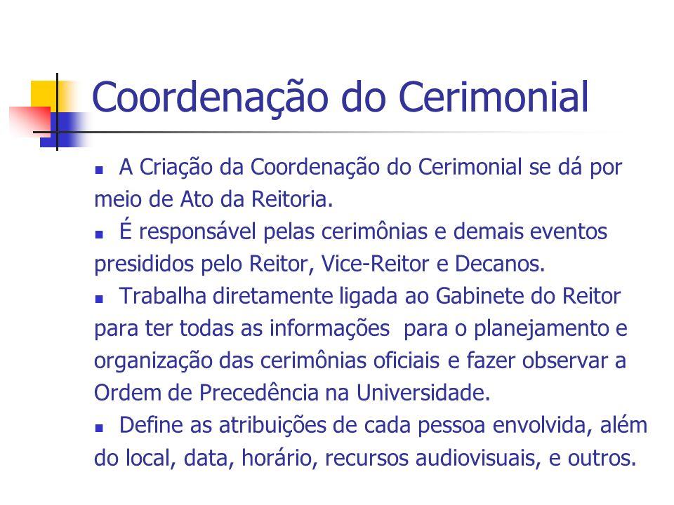 Coordenação do Cerimonial
