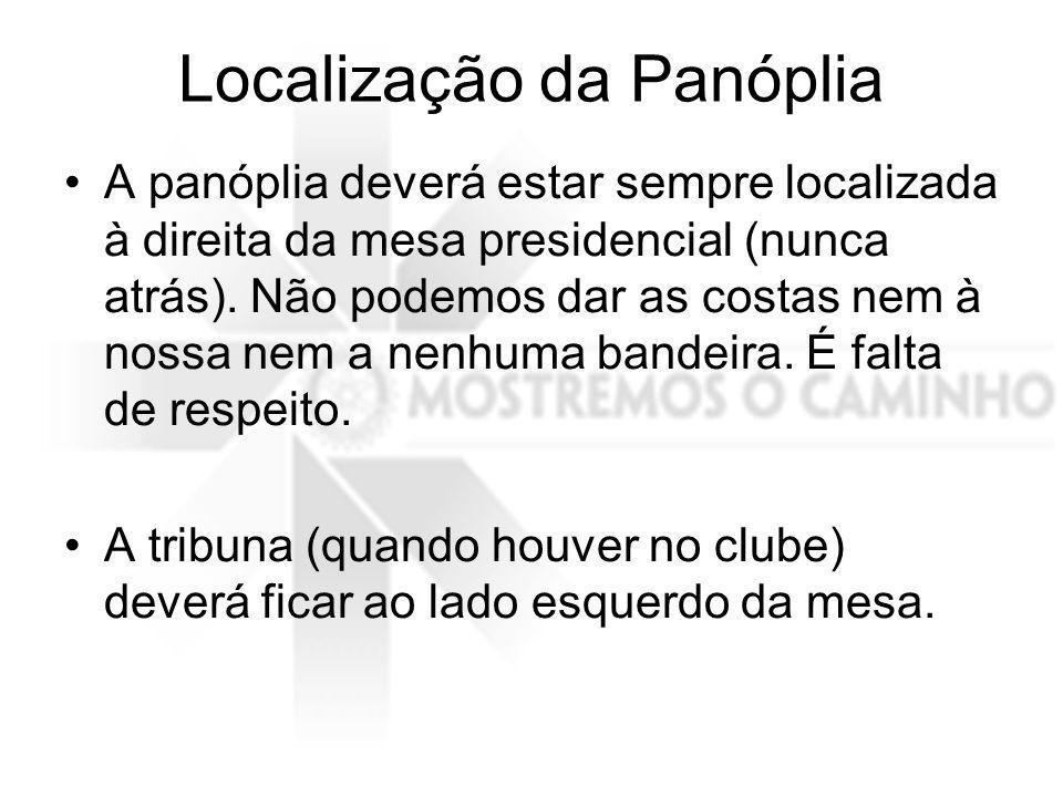Localização da Panóplia