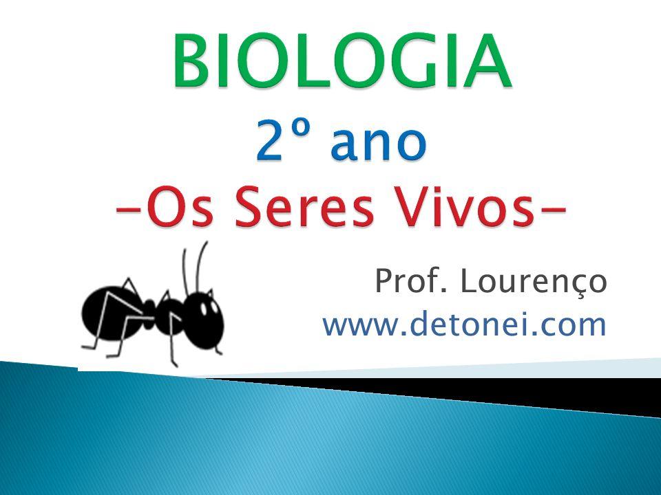 BIOLOGIA 2º ano -Os Seres Vivos-