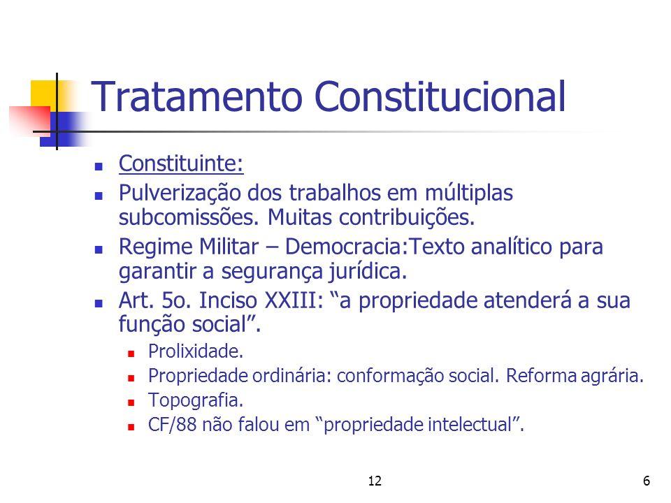 Tratamento Constitucional