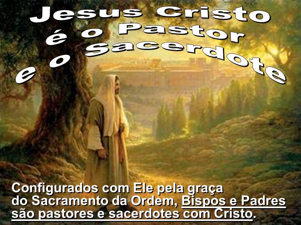 Jesus Cristo é o Pastor e o Sacerdote