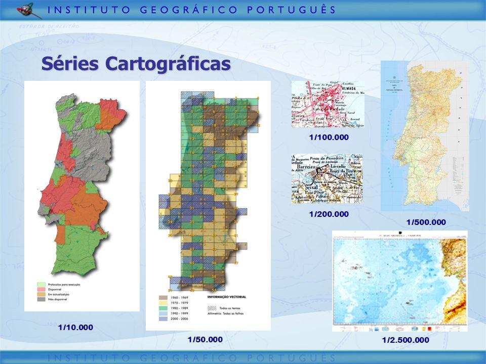 Séries Cartográficas 3/30/2017 1/100.000 1/200.000 1/500.000 1/10.000