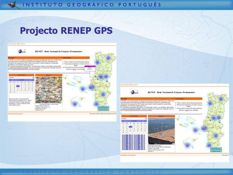 3/30/2017 Projecto RENEP GPS