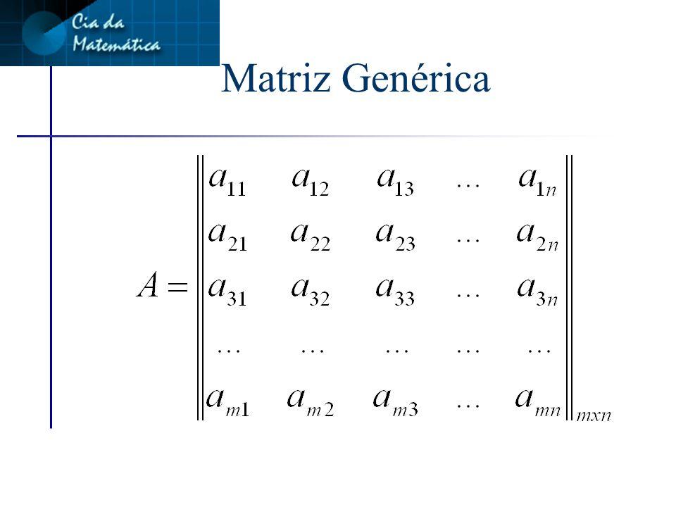 Matriz Genérica