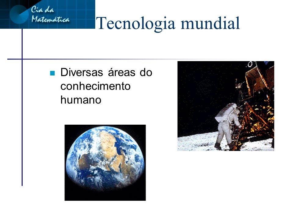 Tecnologia mundial Diversas áreas do conhecimento humano