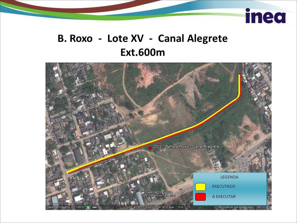 B. Roxo - Lote XV - Canal Alegrete Ext.600m