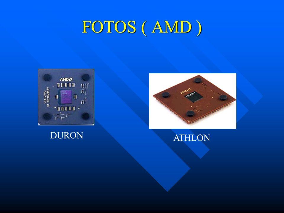FOTOS ( AMD ) DURON ATHLON