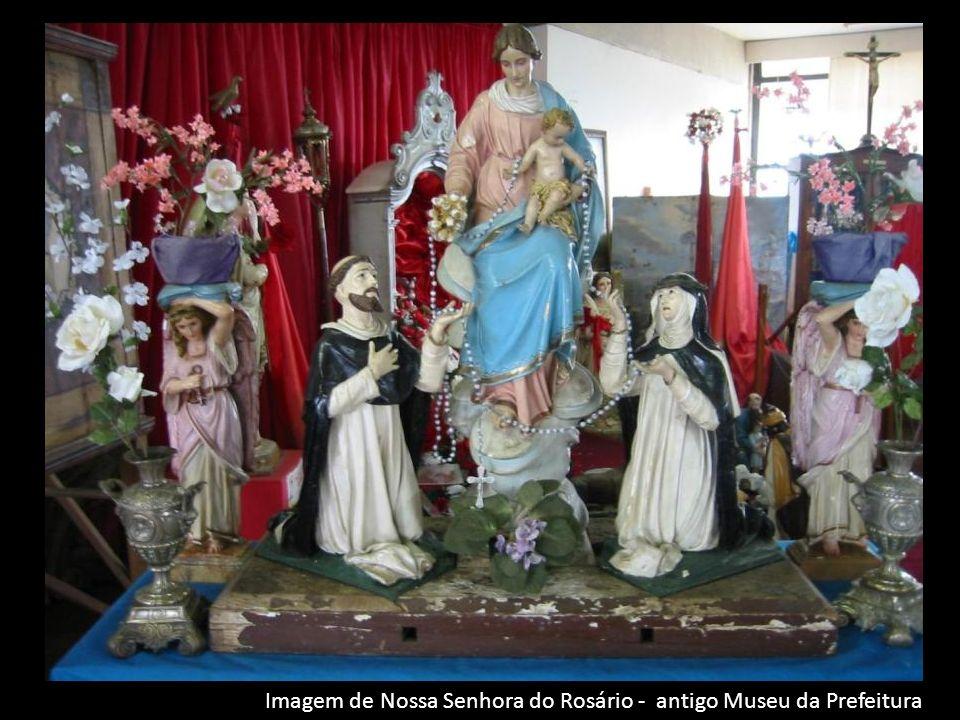 Imagem de Nossa Senhora do Rosário - antigo Museu da Prefeitura