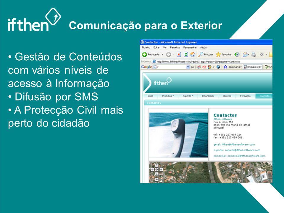 Comunicação para o Exterior