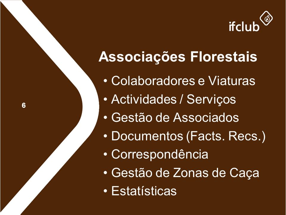 Associações Florestais