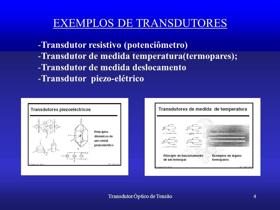 EXEMPLOS DE TRANSDUTORES