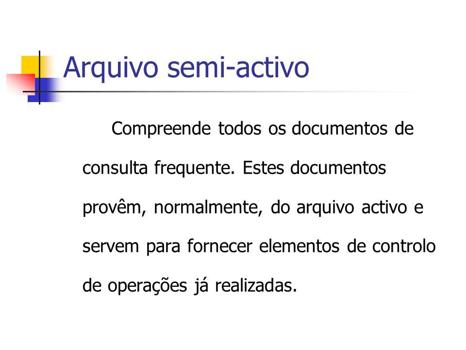Arquivo semi-activo