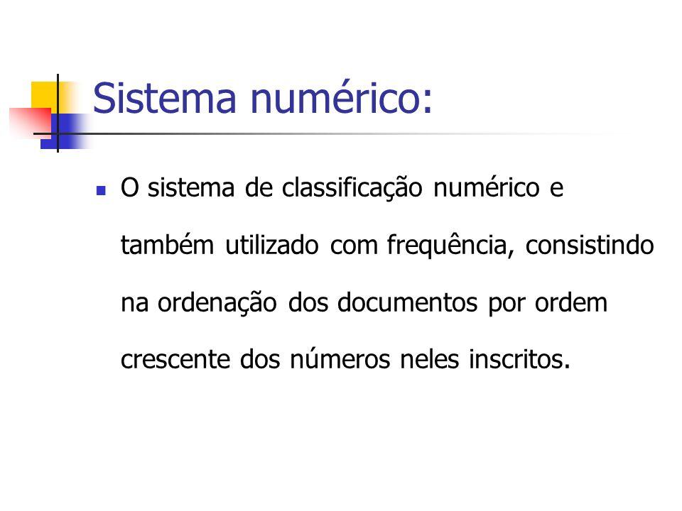 Sistema numérico: