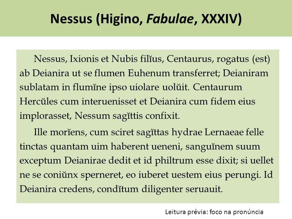 Nessus (Higino, Fabulae, XXXIV)