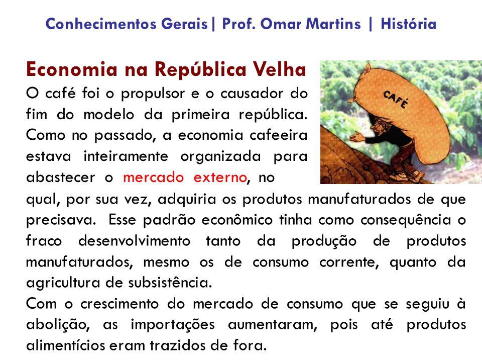 Conhecimentos Gerais| Prof. Omar Martins | História